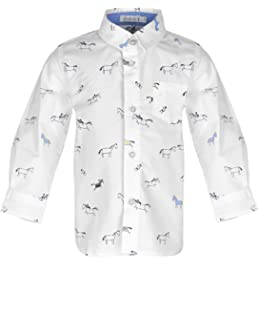 GULLIVER Baby Polo Shirt Polo Hemd Baby Junge Tshirt Gr/ün mit Kn/öpfen 9-24 Monate 74-92 cm