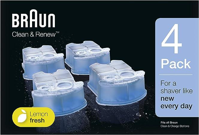 Braun - Pack de 4 recambios de líquido limpiador para el sistema ...