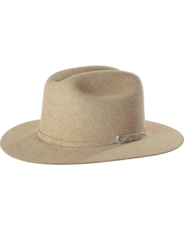 Justin Mens Natural 15X Newman Cowboy Hat