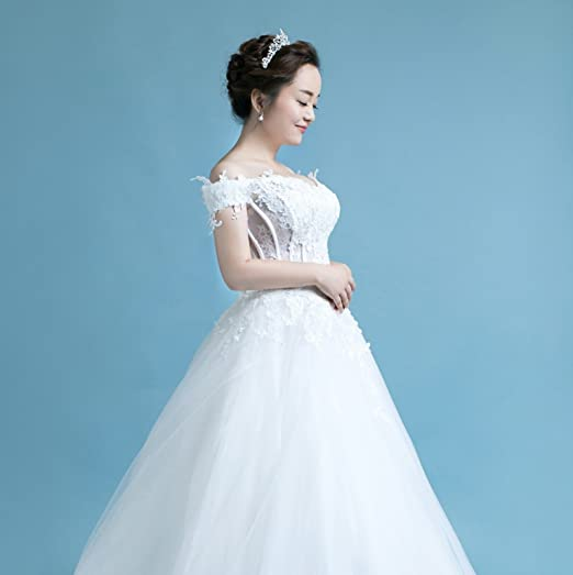 Amazon.com: Butterfly Craze Women Bridal Princess Tiara Crown with ...