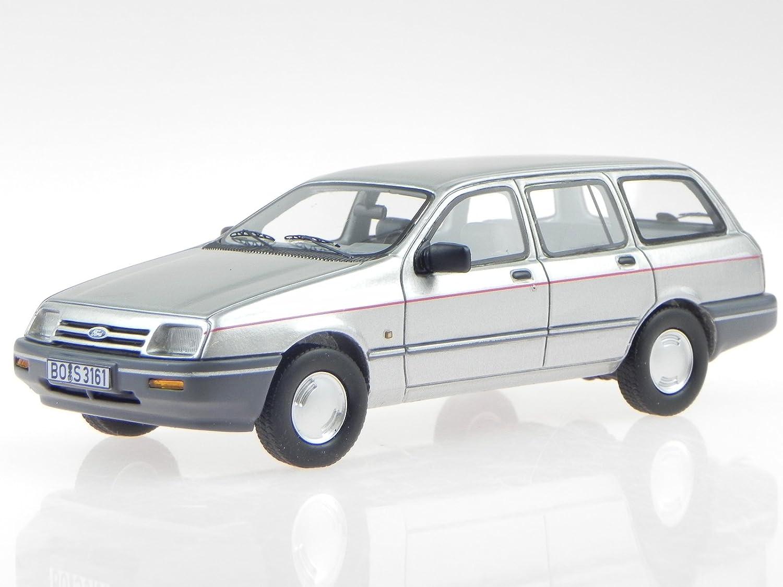 Ford Sierra MK1 Turnier silber Modellauto Resine 43161 BOS 1:43