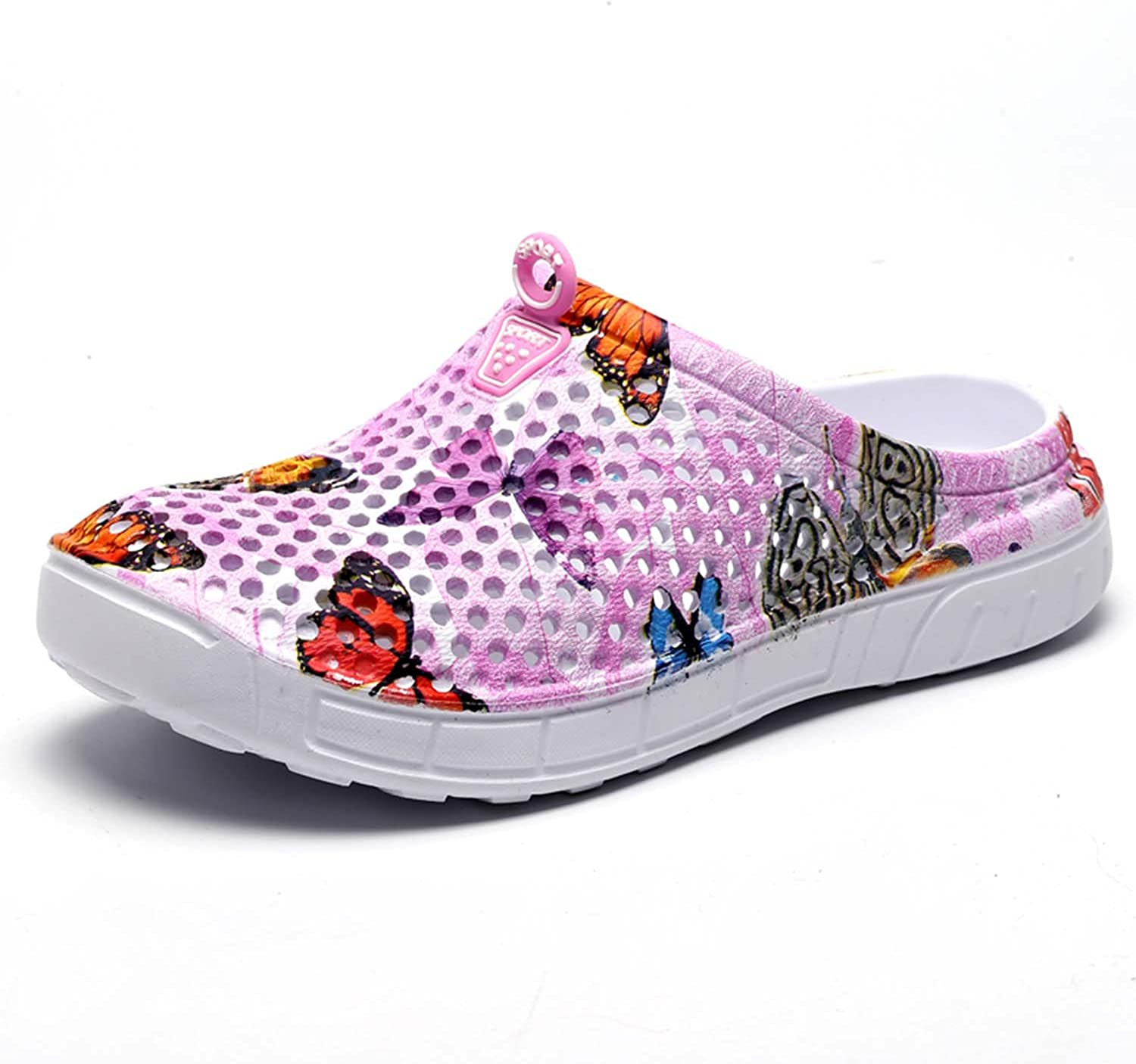 HMAIBO Garden Clogs Shoes Womens Mens Breathable Mule Sandals Water Slippers Footwear