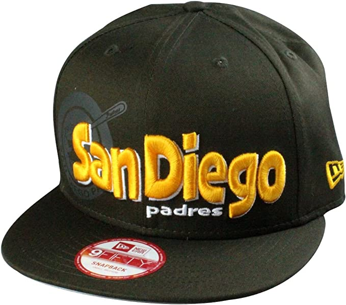 A NEW ERA San Diego Padres MLB – Gorra Dough Word, tamaño ...