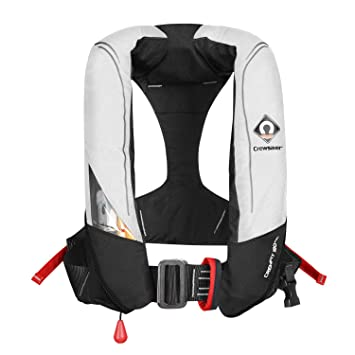 Bekleidung Black 9010BLA 2019 Crewsaver Crewfit 165N Sport Automatic Lifejacket