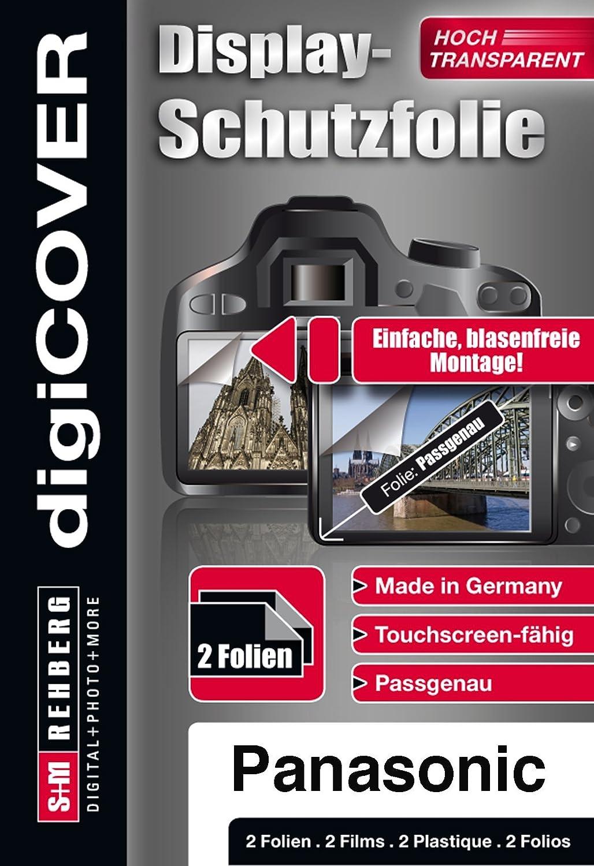 DigiCover C/ámara Protector de Pantalla Panasonic Lumix lx15