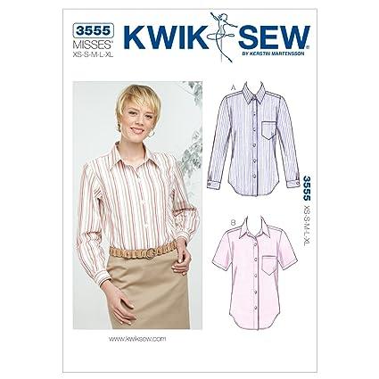Amazon Kwik Sew K3555 Shirts Sewing Pattern Size Xs S M L Xl