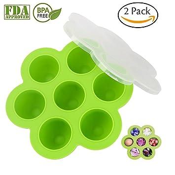 Moldes de silicona para huevos para accesorios de maceta instantánea. Se adapta a ollas instantáneas