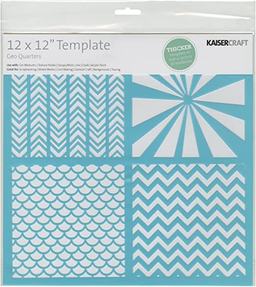 Kaiser Craft Scrapbooking Template Doily 12 By 12-Inch