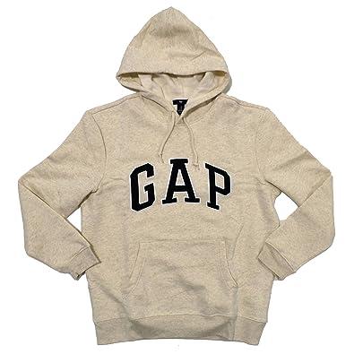 8217d4783 Amazon.com  Gap Mens Fleece Arch Logo Pullover Hoodie (True Red ...
