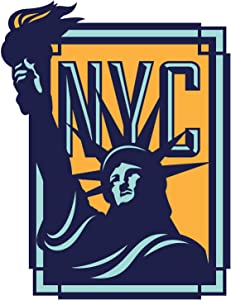 Vagabond Heart New York City Weatherproof Vinyl Sticker