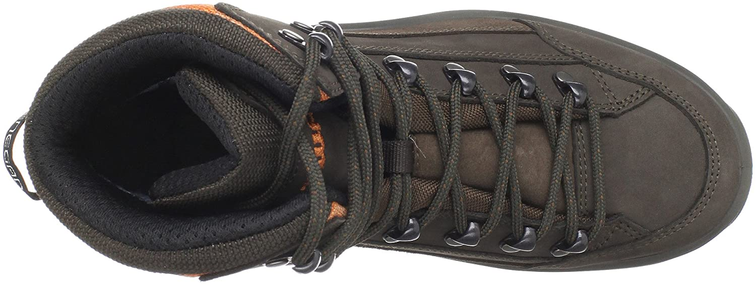 Lowa Women's Renegade GTX Mid Hiking Boot B0042ANCMM 7 B(M) US|Slate/Orange
