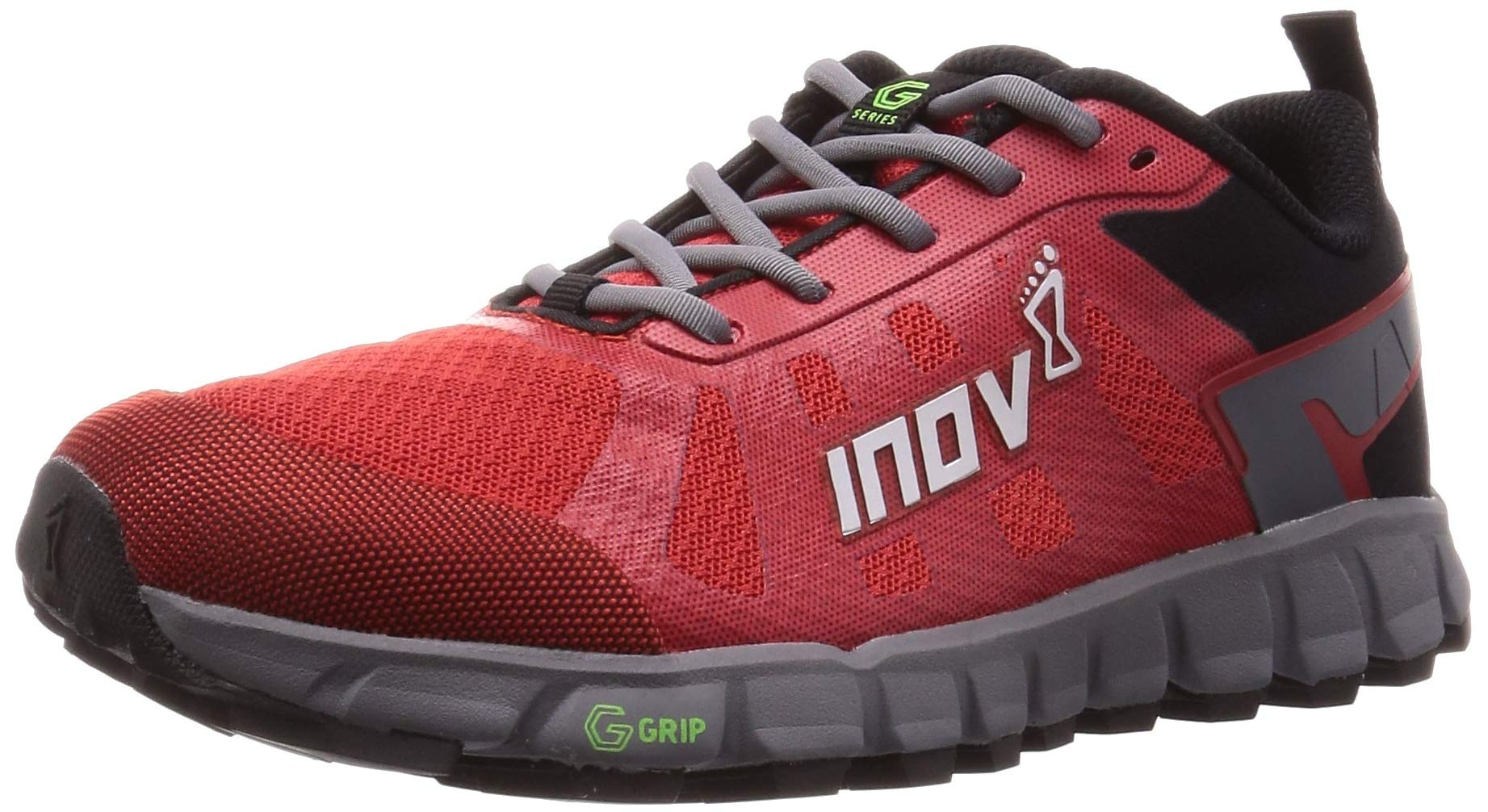 Inov-8 Womens Terraultra G 260 | Ultra Trail Running Shoe | Zero Drop | Perfect for Running Long Distances on Hard Trails and Paths | RED/Grey 8 W US by Inov-8