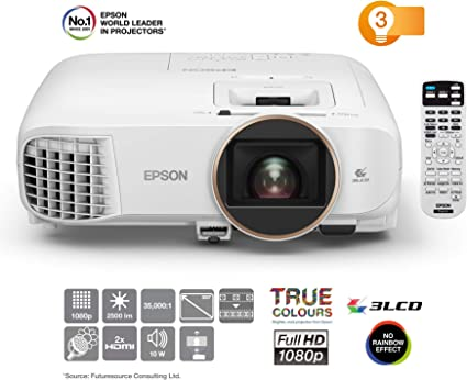 Epson EH-TW5650 | Proyector Home Cinema 3D Full HD 1080p | 2500 ...