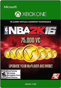 NBA 2K16 - 75,000 VC - Xbox One Digital Code