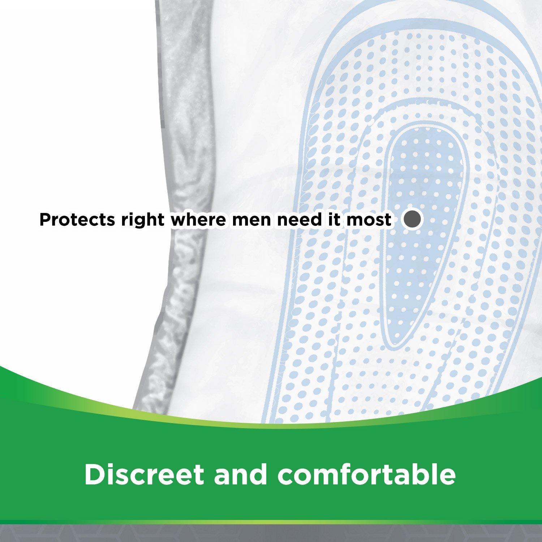 Depend Compresas para la incontinencia para hombre, máxima absorción y protección - Paquete de de 56 compresas: Amazon.es: Salud y cuidado personal