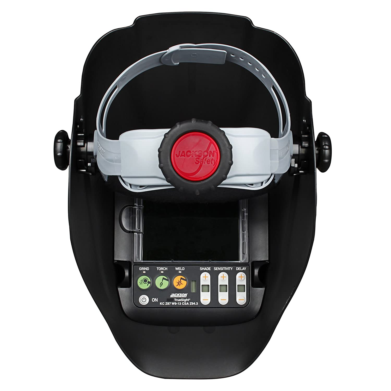 Jackson Safety Casco de soldadura digital Truesight II de oscurecimiento automático con tecnología de Balder (46120), HLX, ADF, color metal: Amazon.es: ...