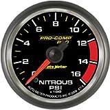 Auto Meter 8774 Pro-Comp Pro 2-1/6' 0-1600 PSI Nitrous Pressure Gauge