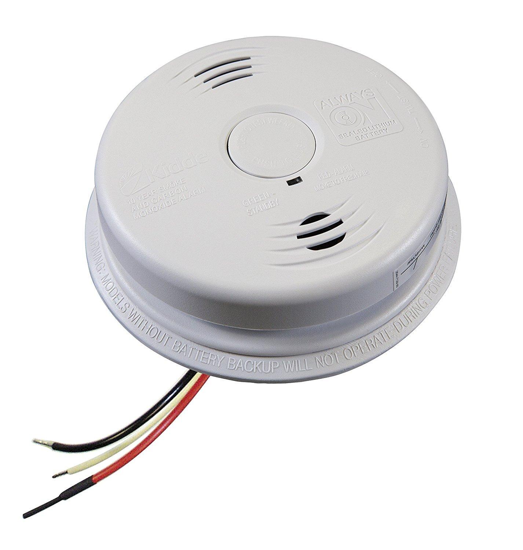 Worry-Free Hardwired Smoke & Carbon Monoxide Alarm with Lithium Battery Backup I12010SCO by Kidde (Image #10)