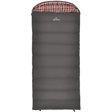 TETON Sports Celsius XL Sleeping Bag; Great for Family Camping; Free Compression Sack