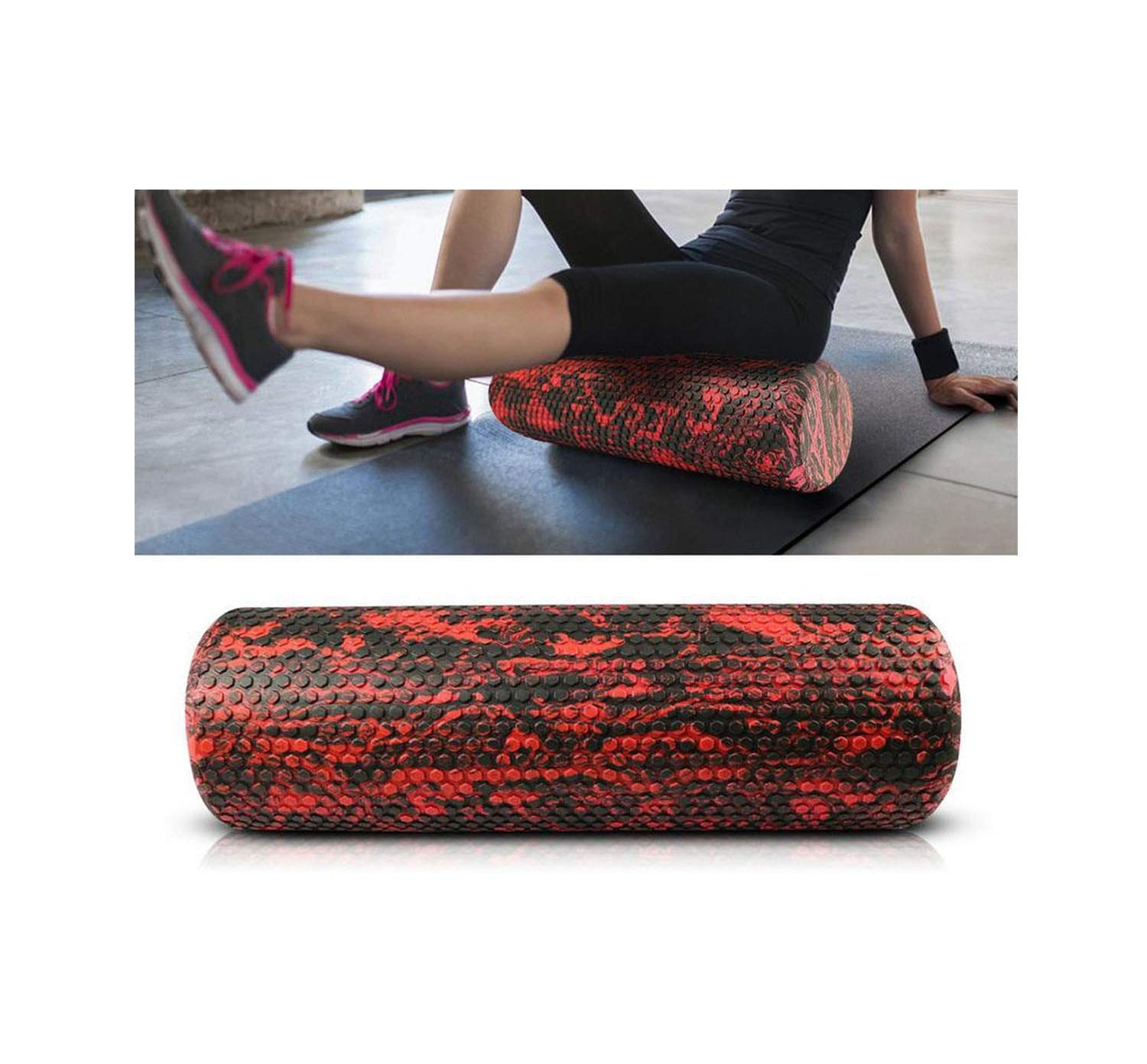 Amazon.com : Foam Yoga Roller Trigger Point Muscle Physical ...