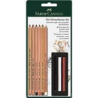 "Faber Castell""Blistercard'' Ensemble de crayons Pitt Monochrome"