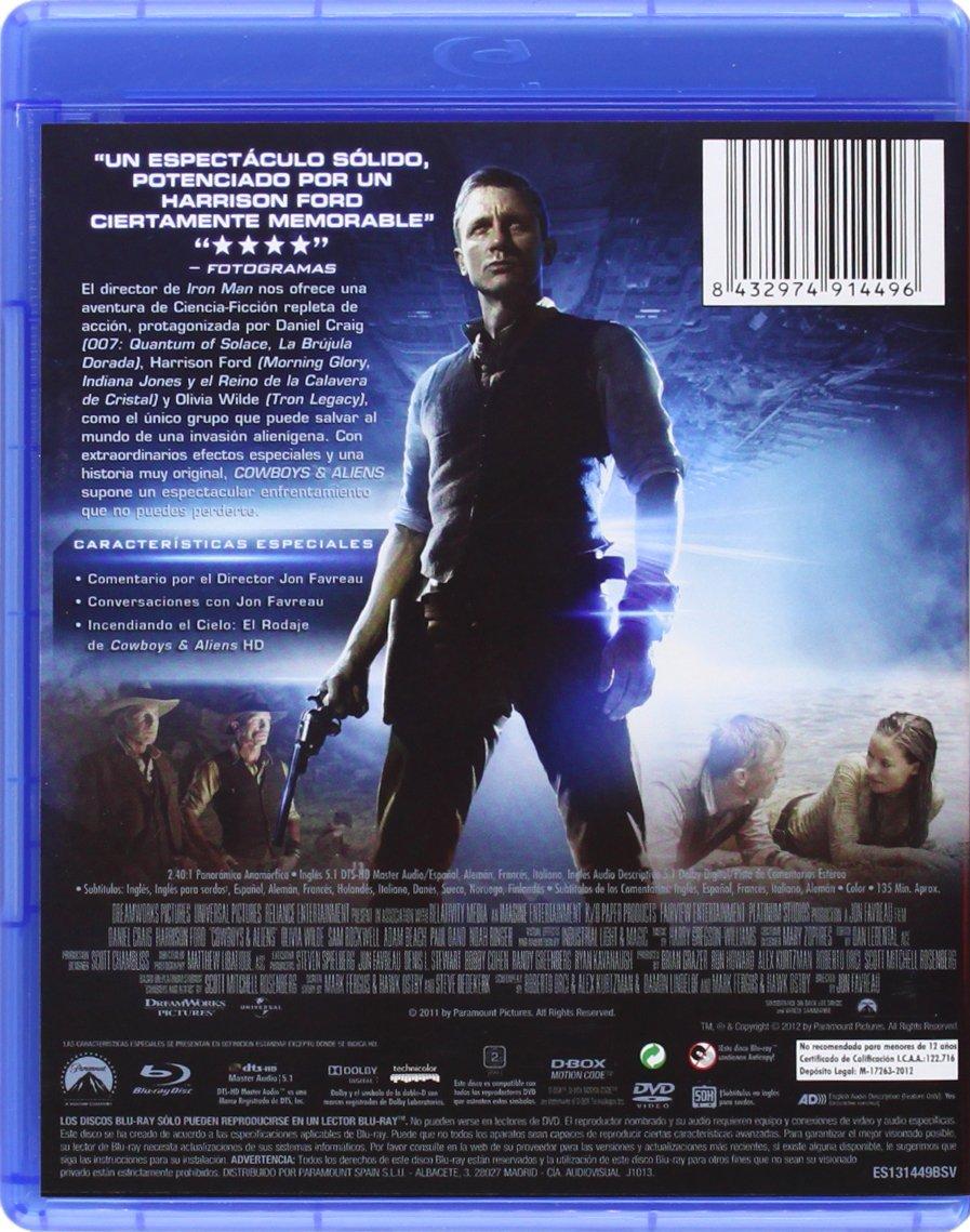 Cowboys & Aliens (Referencia 1 Disco) [Blu-ray]: Amazon.es ...