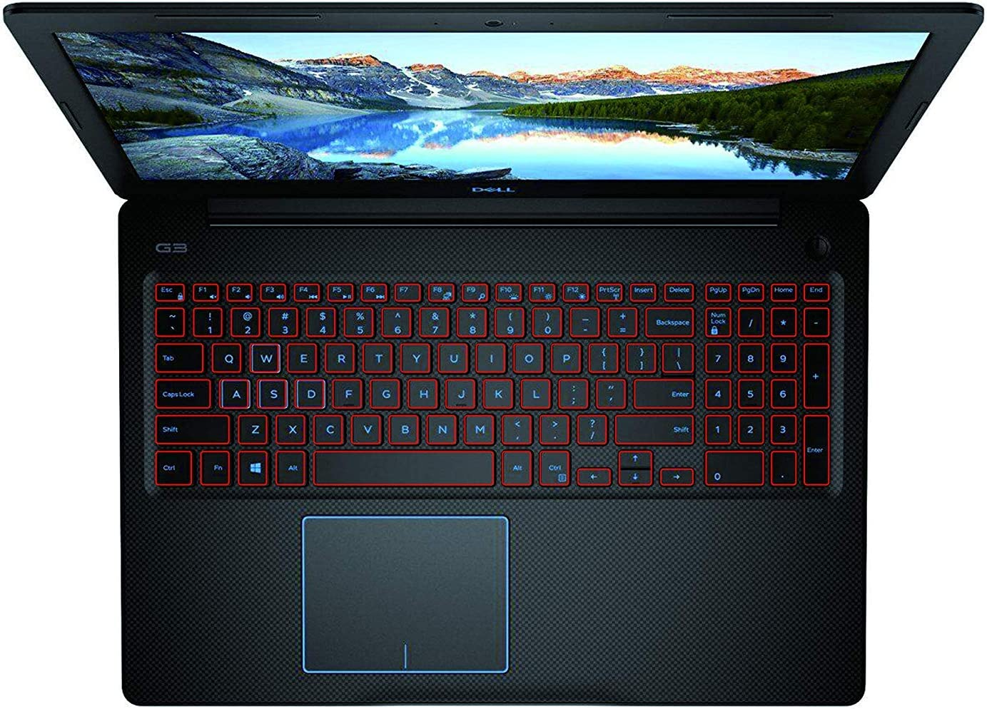 Leze - Ultra Thin TPU Keyboard Skin Cover for MSI GF63 PS63 GS65 P65 WS65 WP65 Gaming Laptop - Red