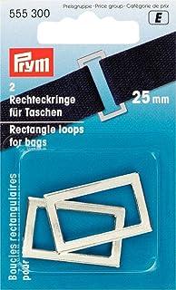 Prym Rectangle Passants pour Sacs et Courroies, en métal, Argent, 25 mm, 94af3ba0b49