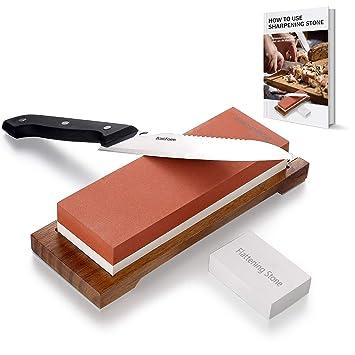 BasicForm - Kit de piedra afiladora para cuchillos ...