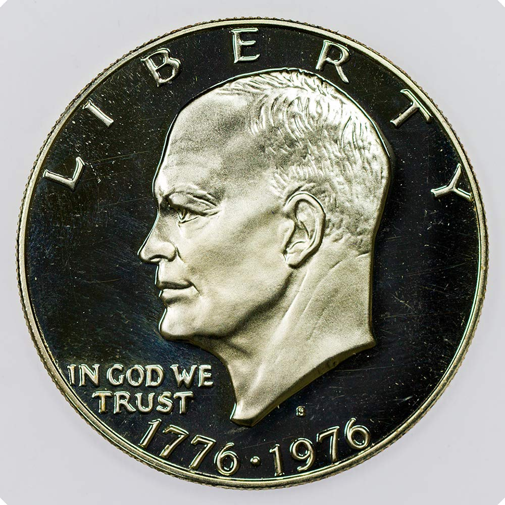 Eisenhower Ike $1 Dollar Coin 1971 to 1978 Collectors Coin Free Shipping 1 U.S
