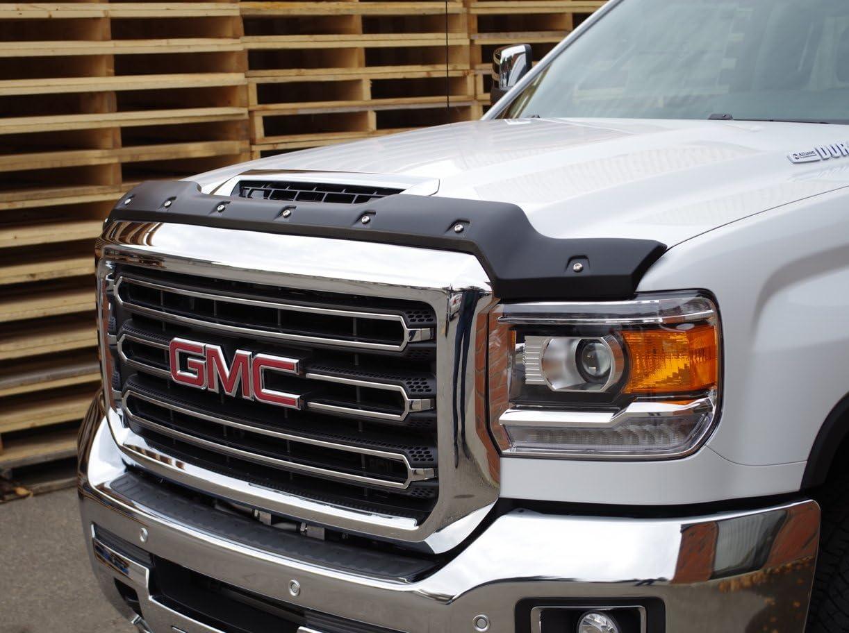 Fits GMC Sierra 1500 2014-2018 AVS Chrome Hood Shield Protector Bug Deflector