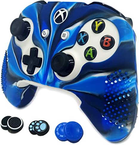 Grips for Microsoft Xbox One S & One X Controller easyCool: Amazon ...