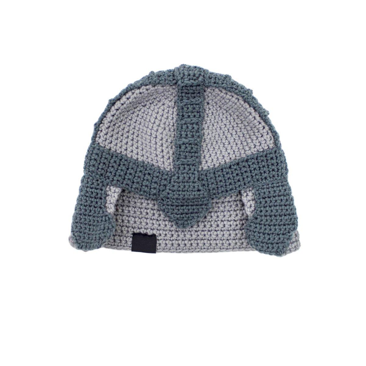 89bd0f120e4 Amazon.com  Beard Head Dwarf Warrior Beard Beanie - Epic Knit Dwarf Helmet  and Fake Beard Black  Clothing