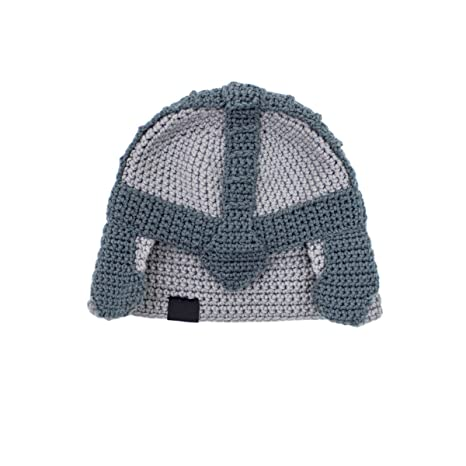 30cfffd086e Amazon.com  Beard Head Dwarf Warrior Beard Beanie - Epic Knit Dwarf Helmet  and Fake Beard Black  Clothing