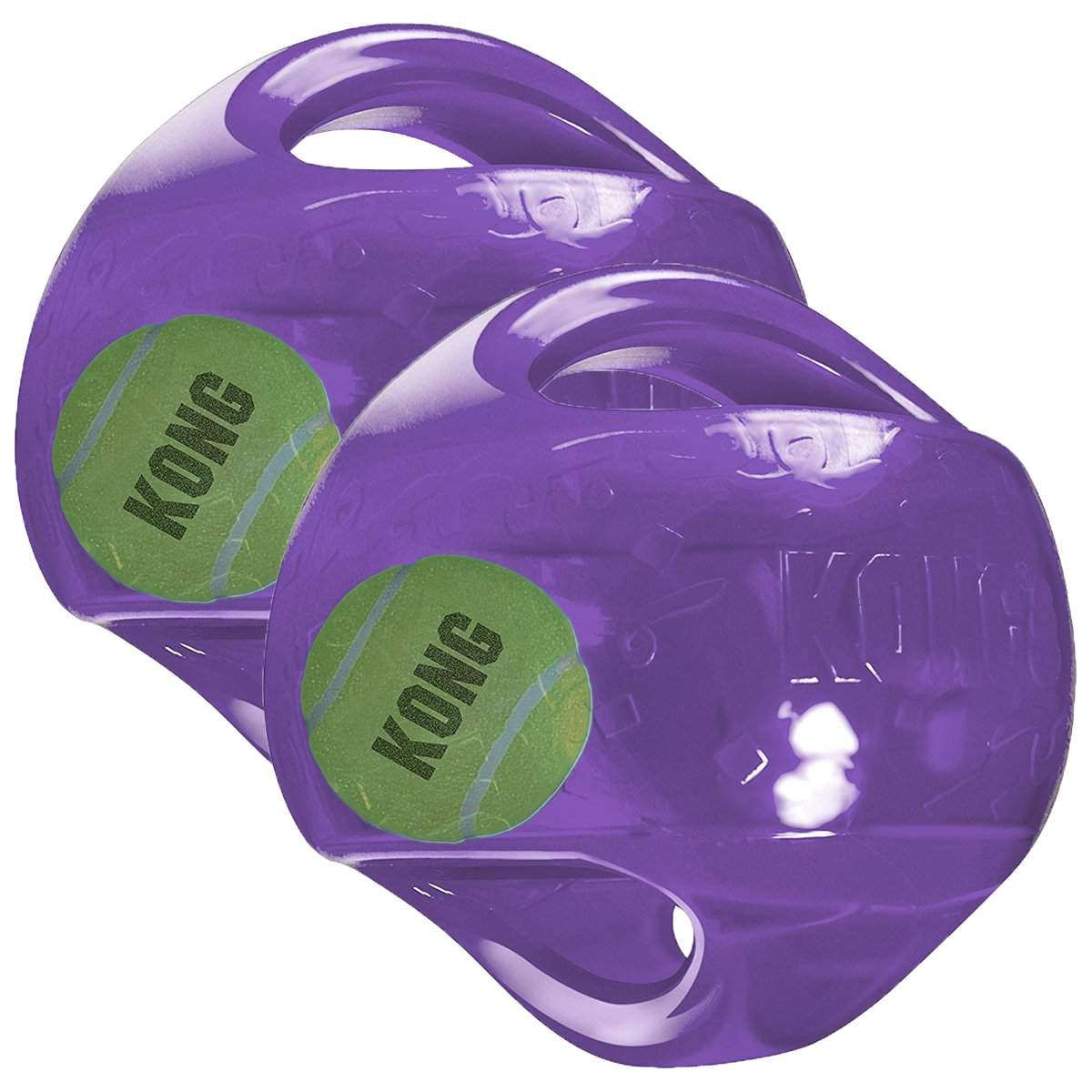 KONG Jumbler Ball Dog Toy, Large/X-Large (2 Pack)