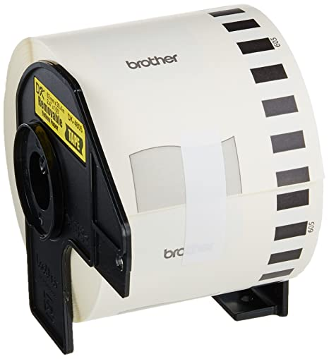 Amazon.com : DK4605 Black On Yellow Label for QL-500 QL-550 QL-650TD