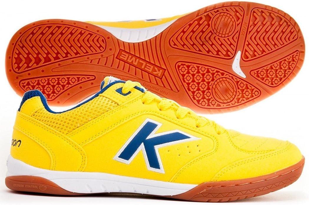 Kelme Zapatilla Precision LNFS Amarillo-Royal: Amazon.es: Zapatos ...