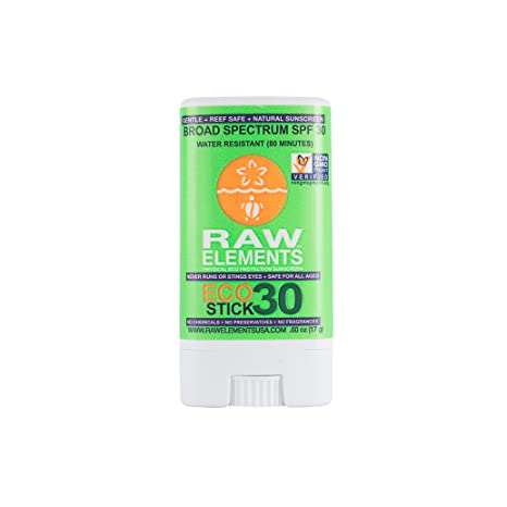 Raw Elements - Lip Balm Rescue Broad Spectrum 30 SPF - 0.15 oz. (pack of 4) Peptide Infusion Advanced Night Treatment Serum 30ml