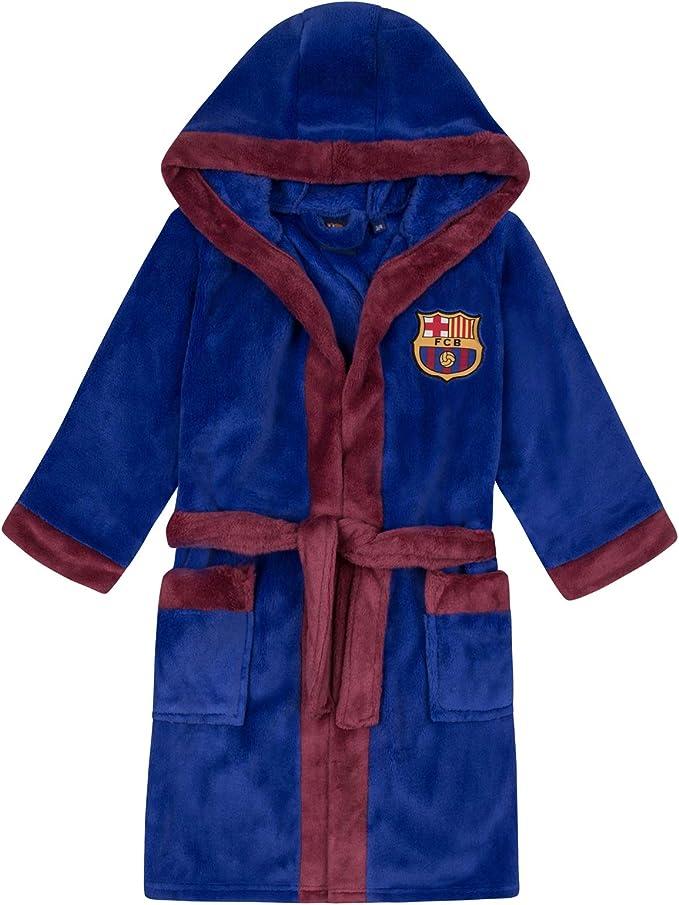 Producto Oficial FCB FC Barcelona Bat/ín con Forro Polar y Capucha para Hombre