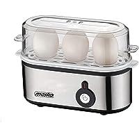 Mesko MS-4485 MS 4485 Eierkoker voor 3 maatbekers, 350 W, kookaccessoires voor zachte, harde gekookte eieren…