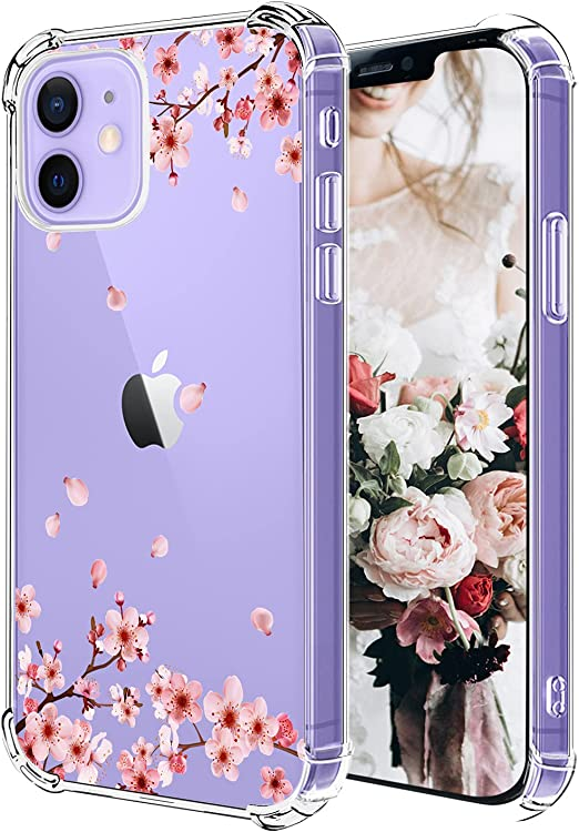 Flowers Personalized iPhone 12 Case Roses Name iPhone 12 Pro Case 12 Mini Case Roses iPhone XS Max Case iPhone 11 Case 11 Pro Case U159