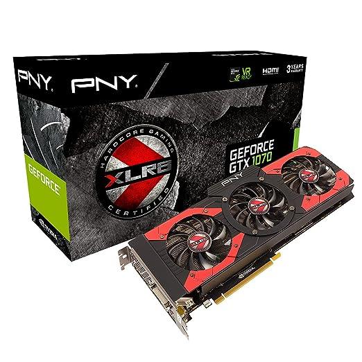 3 opinioni per PNY GeForce NVidia GTX 1070 OC Scheda