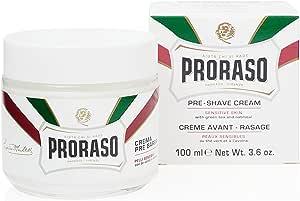 Proraso Anti-Irritation Pre-Shave Cream with Green Tea and Oatmeal
