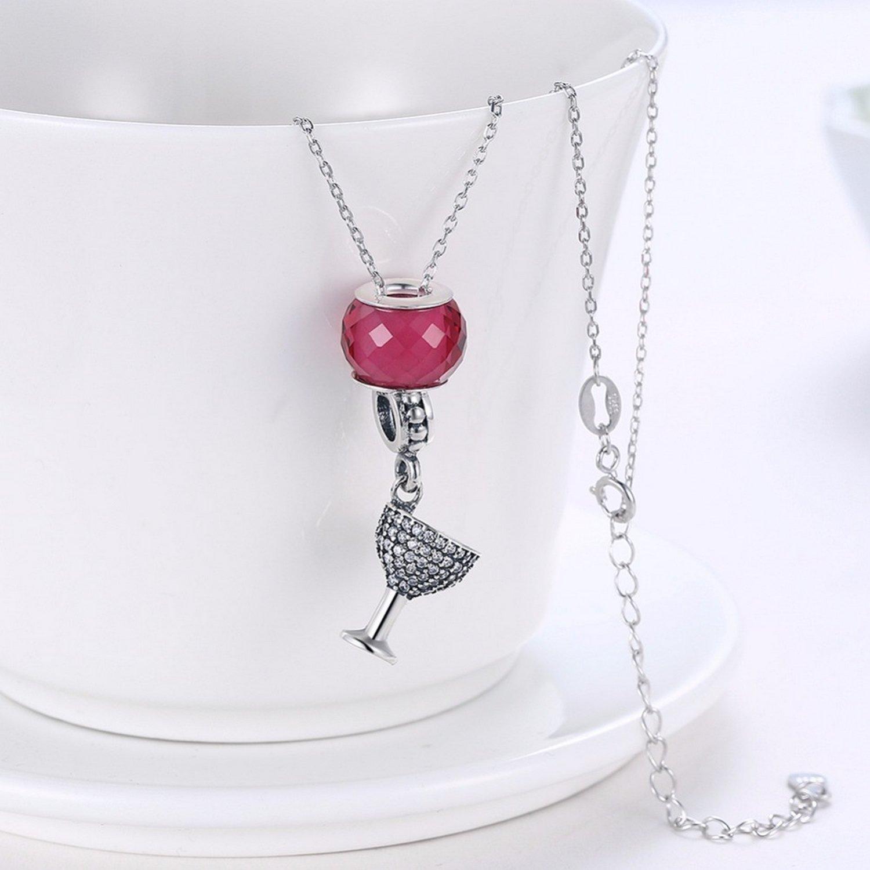 EverReena White Murano Glass Silver Beads Bracelets
