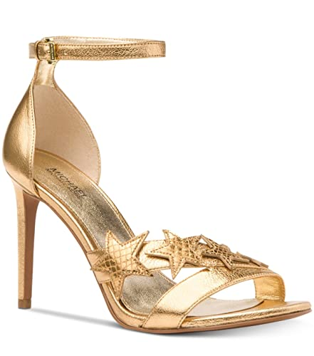5a6d8b4f9863 Michael Michael Kors Woman s Lexie Sandal Patent Gold ...