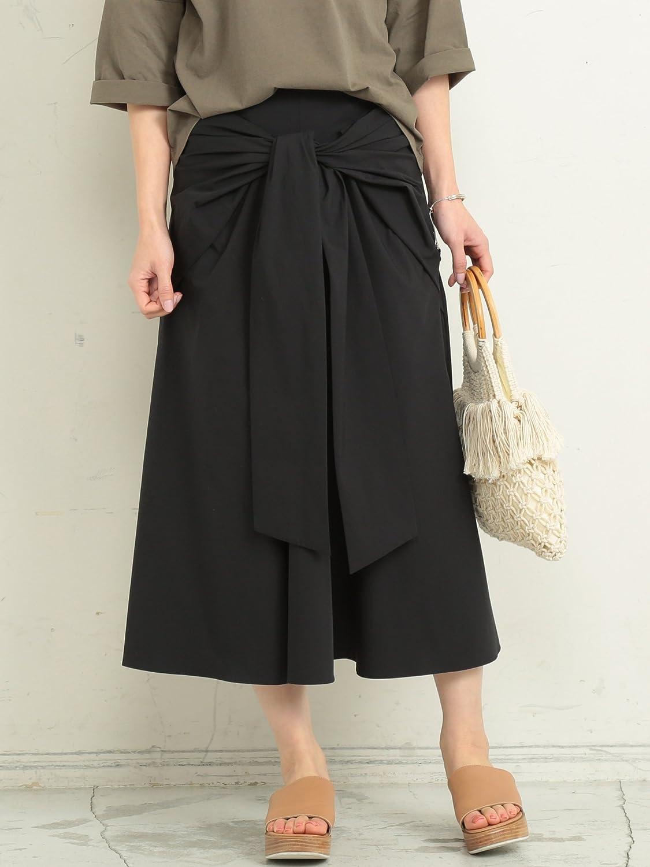 (ビューティ&ユース ユナイテッドアローズ) BY∴ リボンフレアスカート -手洗い可能- 16241623237 B07BQKL3LM Medium|BLACK(09) BLACK(09) Medium