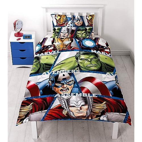 housse de couette avengers. Black Bedroom Furniture Sets. Home Design Ideas