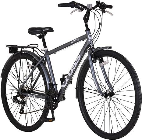 Cross Cruz Malvern 700 C – Bicicleta híbrida para Hombre y Regalo ...