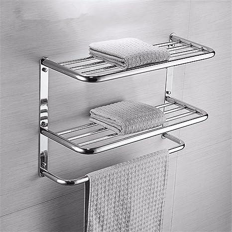 TXDQFa Tres Capas de Acero Inoxidable baño toallero para ...