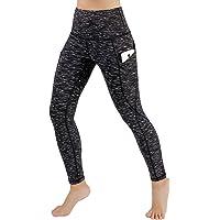 bc8e3a743a8a4 ODODOS High Waist Out Pocket Yoga Pants Tummy Control Workout Running 4 Way  Stretch Yoga Leggings